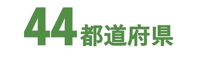 未実施は山形県・秋田県・鹿児島県・沖縄県の4県になります。